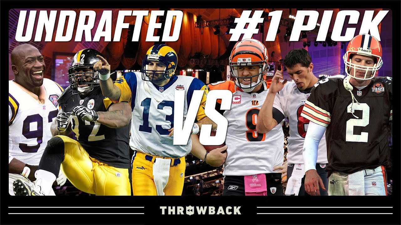 20 Times an Undrafted Player Had a Better Career Than #1 Overall Pick!