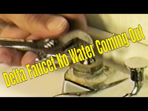 Delta Faucet No Water Coming Out.👍👍👍