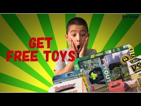 get FREE toys and stuff, giveaway to subscribers ''monthly''    youtube show Bro Vision