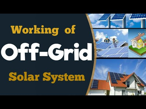 5kw Off-Grid Solar System Installation and Working :Solar Energy India