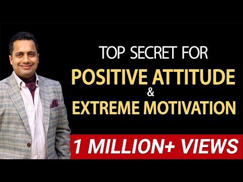 Positive Attitude I Positive Thinking Motivational Video on Belief System (Hindi) Vivek Bindra
