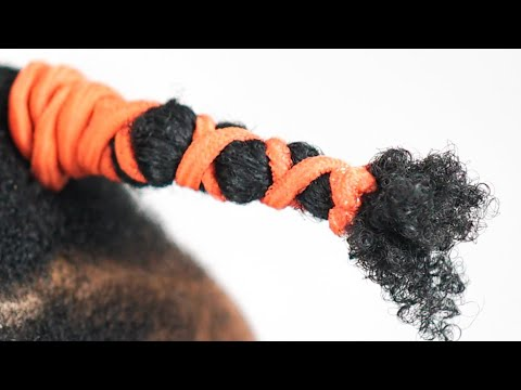 How I STRETCH My Natural Hair WITHOUT HEAT using Stretchy Bands (BEFORE & AFTER RESULTS)
