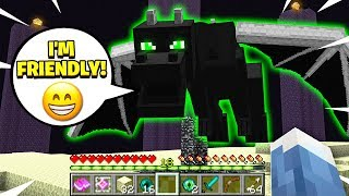 Download FINDING THE *FRIENDLY* ENDERDRAGON IN MINECRAFT! Video