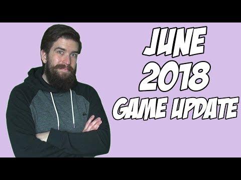 Game Update: June 2018