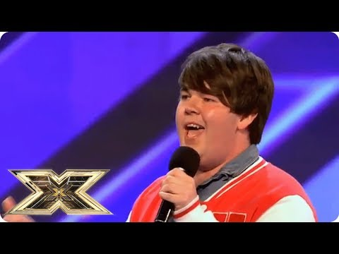 """""""MY MUM AND DAD DON'T KNOW I'M HERE""""    The X Factor UK Unforgettable Audition"""