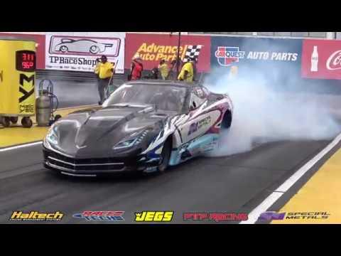 Jeg Coughlin Jr Top Sportsman Corvette at NHRA WildHorse Pass 2018