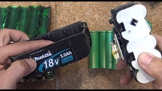 Diy: Salvage High Discharge 18650 Cells From Makita Tool Battery For Free