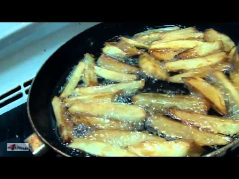 Making French Fries at Home, Homemade