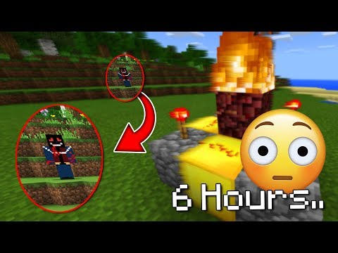 Leaving Minecraft on for 6 hours and 66 minutes.. (BAD IDEA)