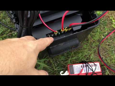 Our Electric Fence Setup