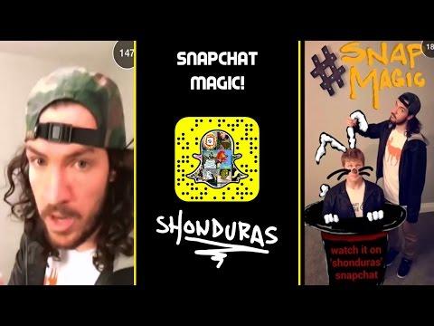 Snapchat Magic W/ Stuart Edge - Snapchat Stories - Shonduras