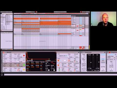 Ableton Live Tutorial - Making An FM Deep House Bass Sound in Operator
