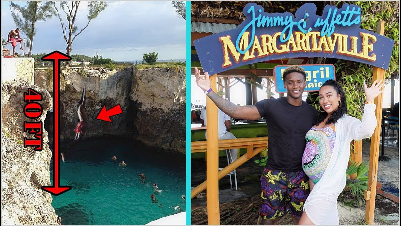 WE WENT TO THE HIGHEST CLIFF JUMP IN JAMAICA! *40 FEET*