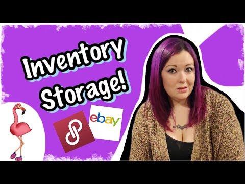 Poshmark/eBay Inventory Storage System. Don't Misplace Your Items!