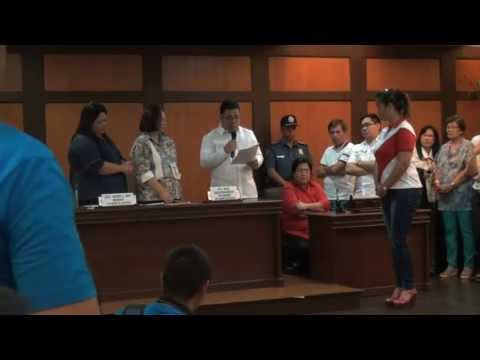 Raw Video: COMELEC Proclamation of Winning Candidates in Valenzuela City.