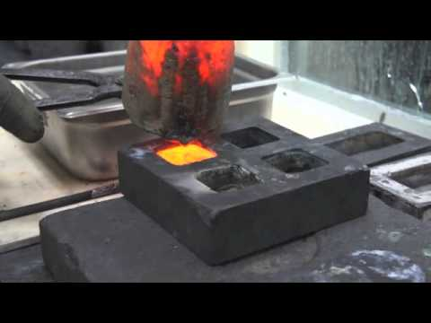 Behind the Scenes: Melting Down Gold Jewelry