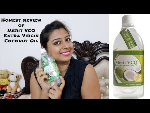 Benefits of Merit VCO Extra Virgin Coconut Oil Hair, Skin and Health