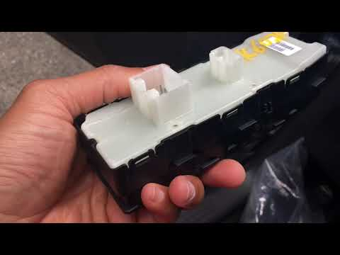 Dodge Charger Window Switch Replacement w/o Removing Door Panel