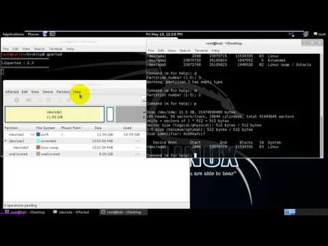 How to Extend Partition Table in Linux