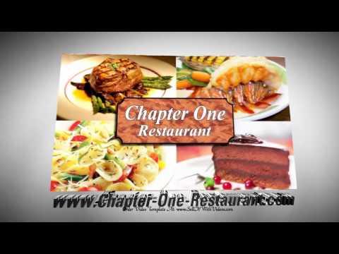 Video Marketing For Restaurants With Video Templates. Restaurant Marketing