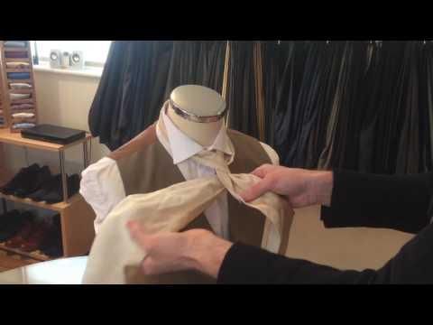 How to Tie a Cravat...
