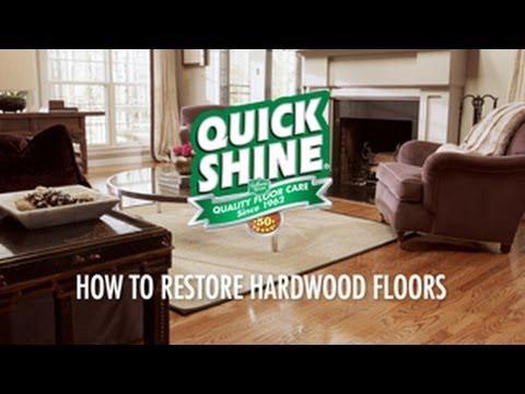 How To Restore Hardwood Floors