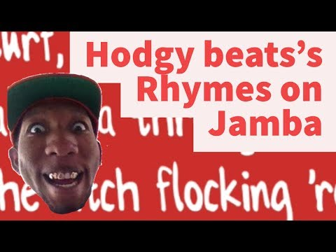 Rap Tips from Hodgy Beats's Jamba- Rhyme Schemes Analysis