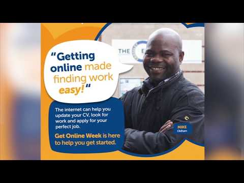 Get Online Week 2015: Mike's Story