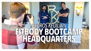 Bedros Keuilian Fit Body Bootcamp Headquarters Behind the Scenes (Lewis Howes Vlog)
