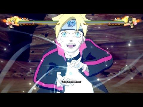 Naruto Storm 4: Boruto Rasengan,Sarada Team Ultimate Jutsu,Awakening (Boruto The Movie DLC)