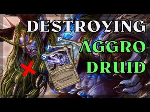 Hearthstone - Destroying Aggro Druids