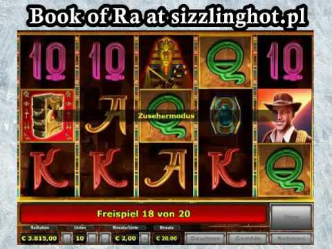 HUUUUUUGE win in online slot Book of Ra! REAL MONEY AND FREE SPINS!!