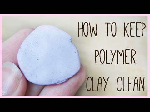 How to Keep Your Polymer Clay Clean / Dust Free ● Back To Basics Tutorial