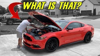 """FRIEND BOUGHT A 2016 MUSTANG GT - HE DIDN'T KNOW IT HAD THESE """"SPECIAL"""" UPGRADES"""
