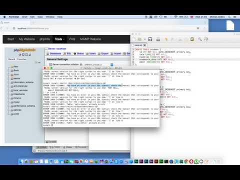 MySQL - Command Line - Importing from .sql file (Mac OS X)