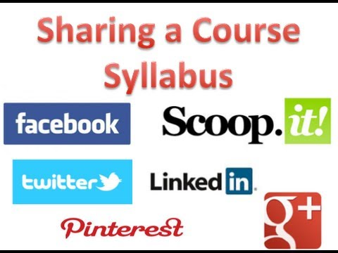 Google Drive for a Course Syllabus