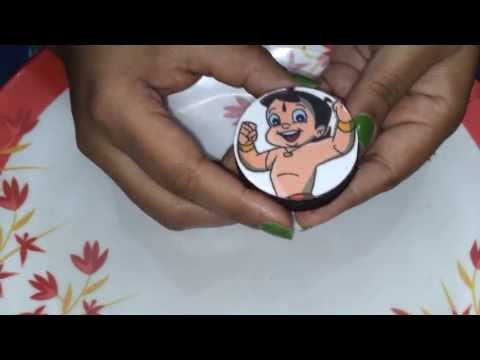 3. How to make Chocolate Covered Oreos with edible image