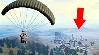 THE BEST PLACE TO LAND! (Player Unknown Battlegrounds)