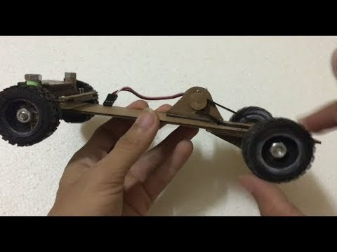 RC Homemade | How to make remote control car at home RC Truck 4x4