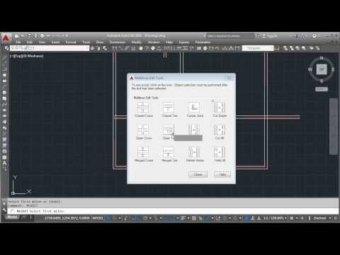 AutoCAD Making Floor Plan With Multiline