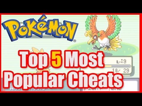 Pokemon Ruby Cheats Includes Rare Candy, Legendary Pokemon, Master Ball & Walk Through Walls