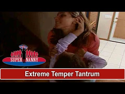 Extreme Temper Tantrum At Bedtime | Supernanny