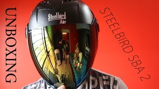 Steelbird Sba2 With Free 1 Extra Visior ..Unboxing & Overview
