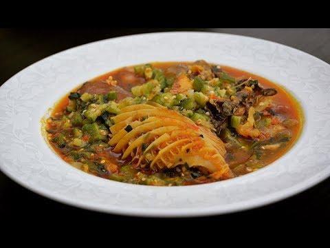 HOW TO MAKE OKRA SOUP - NIGERIAN OKRO SOUP - ZEELICIOUS FOODS