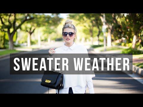Style Challenge: Sweater Weather 3 Ways | Fashion & Style Tutorial | Mr Kate