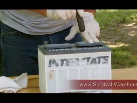 How To Recondition a 12 v Battery by Survival-Warehouse.com
