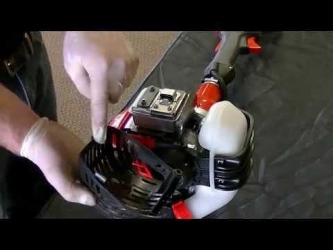 How to Clean a Line Trimmer Spark Arrestor | Echo
