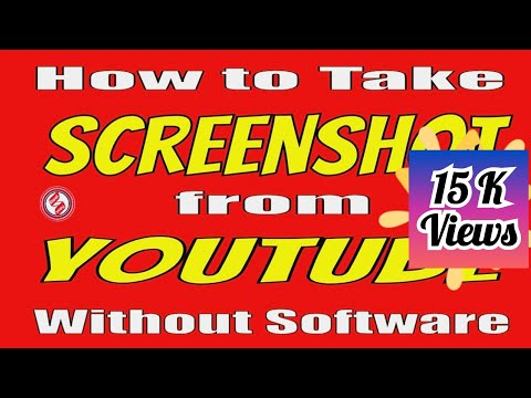 How to Take Screenshot from Youtube video Without Software