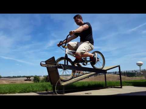 How To: Balance On A BMX Gate