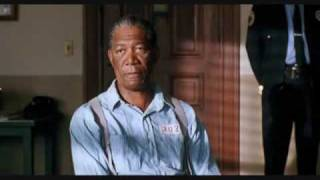 Morgan Freeman - The Shawshank Redemption -Montage rehabilitated prisoner - 40 years